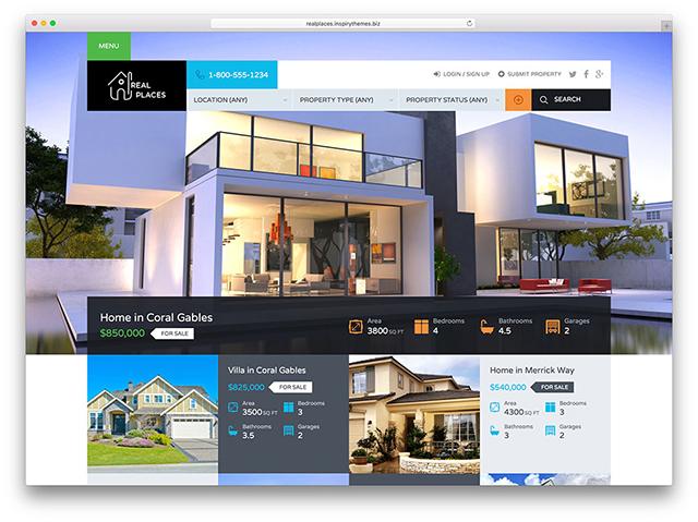 xây dựng website bất động sản